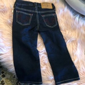 Nwot True Religion straight jeans size 2t